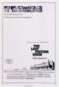 The Last Picture Show / Nickelodeon Movie Poster
