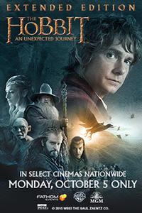 The Hobbit: An Unexpected Journey Extended Edition Movie Poster