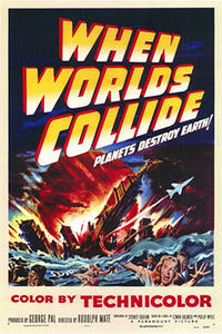 When Worlds Collide/ Destination Moon Movie Poster