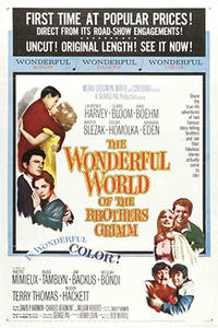 Wonderful World of the Brothers Grimm/ Tom Thumb Movie Poster