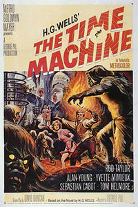 The War of the Worlds/ The Time Machine Movie Poster
