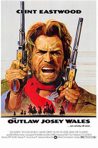The Outlaw Josey Wales / Dirty Harry Movie Poster