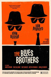 The Blues Brothers / Stripes Movie Poster
