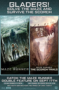 The Maze Runner Double Feature Movie Poster