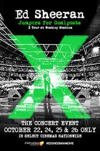 Ed Sheeran x Tour at Wembley Stadium Movie Poster