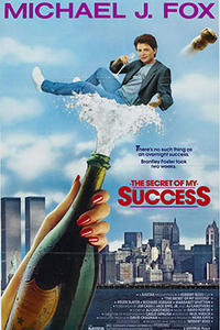 The Secret of My Success Movie Poster