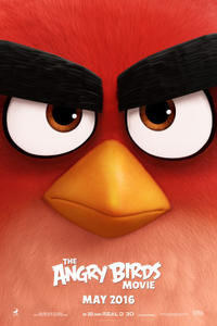 The Angry Birds Movie 3D Movie Poster