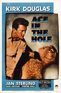 ALL THE PRESIDENT'S MEN / ACE IN THE HOLE Movie Poster