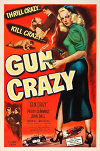 GUN CRAZY / HE RAN ALL THE WAY  Movie Poster
