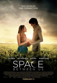 The Space Between Us Movie Poster