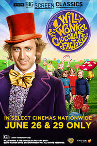 Willy Wonka and the Chocolate Factory (1971) presented by TCM Movie Poster