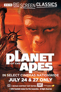 Planet of the Apes (1968) presented by TCM Movie Poster