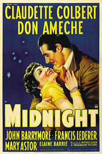 MIDNIGHT / REMEMBER THE NIGHT Movie Poster