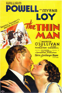 THE THIN MAN / LIBELED LADY Movie Poster