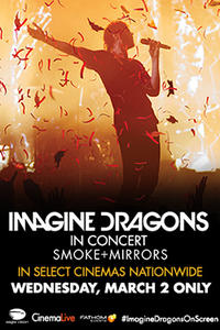 Imagine Dragons: Smoke + Mirrors Concert Movie Poster