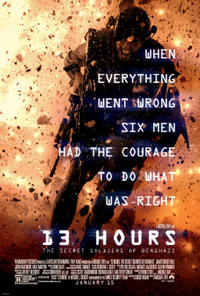 13 Hours: The Secret Soldiers of Benghazi - Q&A Digital Cinema Movie Poster