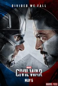 Captain America: Civil War 3D (2016) Movie Poster