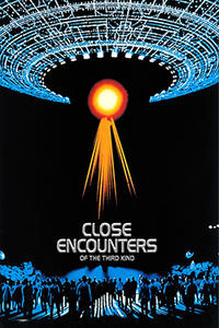 CLOSE ENCOUNTERS OF THE THIRD KIND/THE SUGARLAND EXPRESS Movie Poster