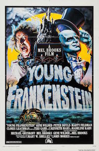 YOUNG FRANKENSTEIN/SON OF FRANKENSTEIN Movie Poster