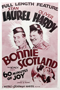 Bonnie Scotland/The Devil's Brother Movie Poster