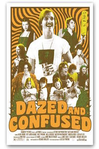 Dazed and Confused/School Of Rock Movie Poster