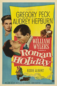 Roman Holiday/Designing Woman Movie Poster