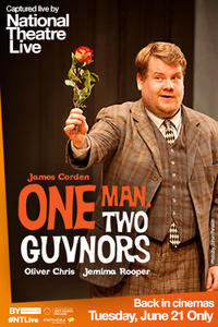 NT Live: One Man, Two Guvnors 2016 Encore Movie Poster