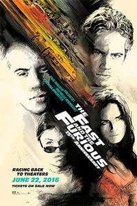 The Fast and the Furious 15th Anniversary Movie Poster