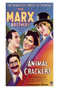 Animal Crackers/Monkey Business Movie Poster