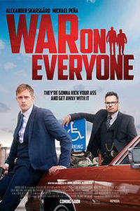 War on Everyone Movie Poster