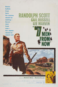 Seven Men From Now/ Buchanan Rides Alone Movie Poster