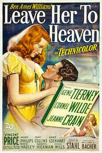 Leave Her to Heaven/ Bride of Frankenstein Movie Poster