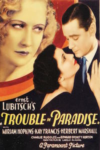 Trouble In Paradise/ The Lady Eve/The Major And The Minor Movie Poster