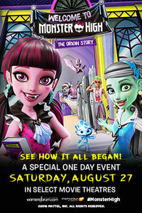 Welcome to Monster High Movie Poster