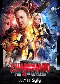 Sharknado 4: The 4th Awakens Movie Poster