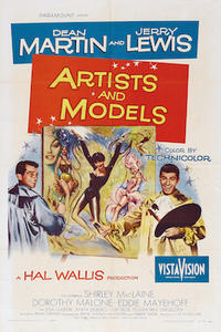 Artists and Models/ Hollywood or Bust Movie Poster