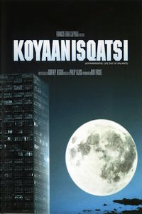 Koyaanisqatsi/ Visitors Movie Poster