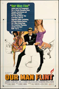 Our Man Flint/ Modesty Blaise Movie Poster