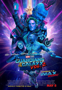 Guardians of the Galaxy Vol. 2 An IMAX 3D Experience (2017) Movie Poster