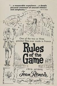 The Rules Of The Game/The River Movie Poster