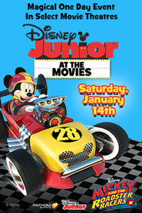 Disney Junior at the Movies with Mickey! Movie Poster