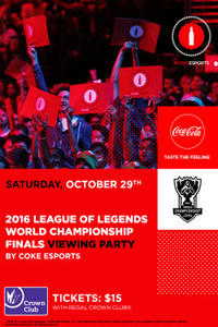 League Of Legends Watch Party With Coke Movie Poster