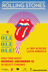 THE ROLLING STONES OLÉ OLÉ OLÉ Movie Poster