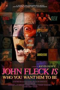 John Fleck Is Who You Want Him To Be Movie Poster