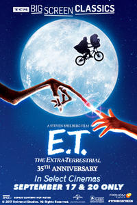 E.T. the Extra-Terrestrial (1982) presented by TCM Movie Poster
