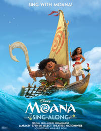 Moana Sing-Along Movie Poster