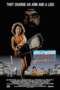 HOLLYWOOD CHAINSAW HOOKERS/FRANKENHOOKER Movie Poster