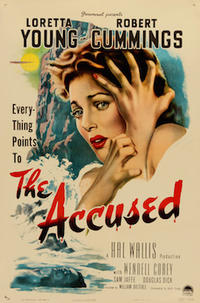 THE ACCUSED/THE HUNTED Movie Poster