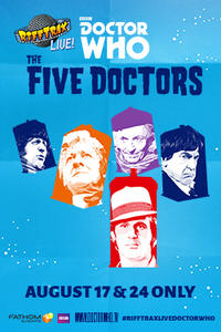 RiffTrax Live: Doctor Who – The Five Doctors Movie Poster