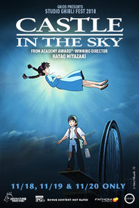 Castle in the Sky – Studio Ghibli Fest 2018 Movie Poster